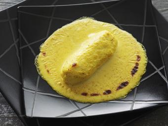 Quenelles gratinées au curry