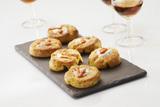 Recette : Choux soufflés farcis de fromage frais et caramel de carotte