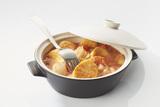 Recette : Ragout de poisson à la tomate et aux quenelles brochet