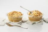 Recette : Crumble de courge butternut, quenelle volaille et mimolette